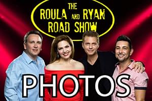The Roula and Ryan Road Show Photos