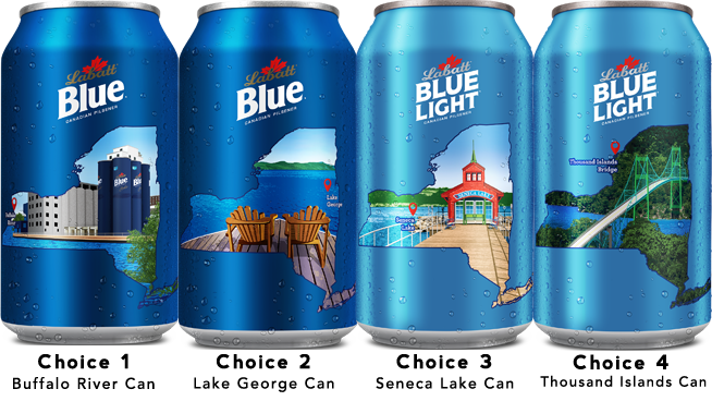 Labatt Loving NY — Vote For Your Favorite Can! | Contest