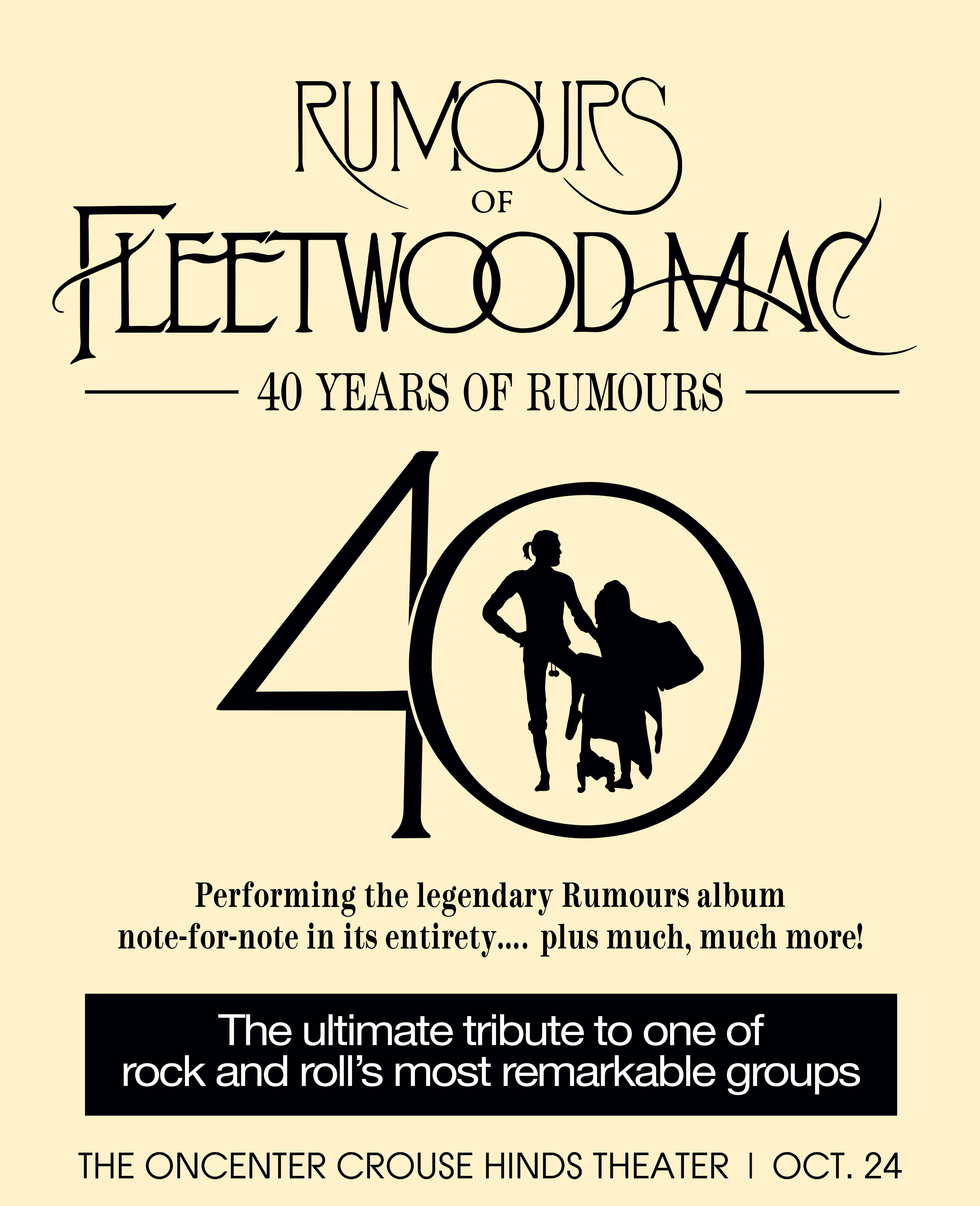 Rumours of Fleetwood Mac at the Crouse Hinds Theater