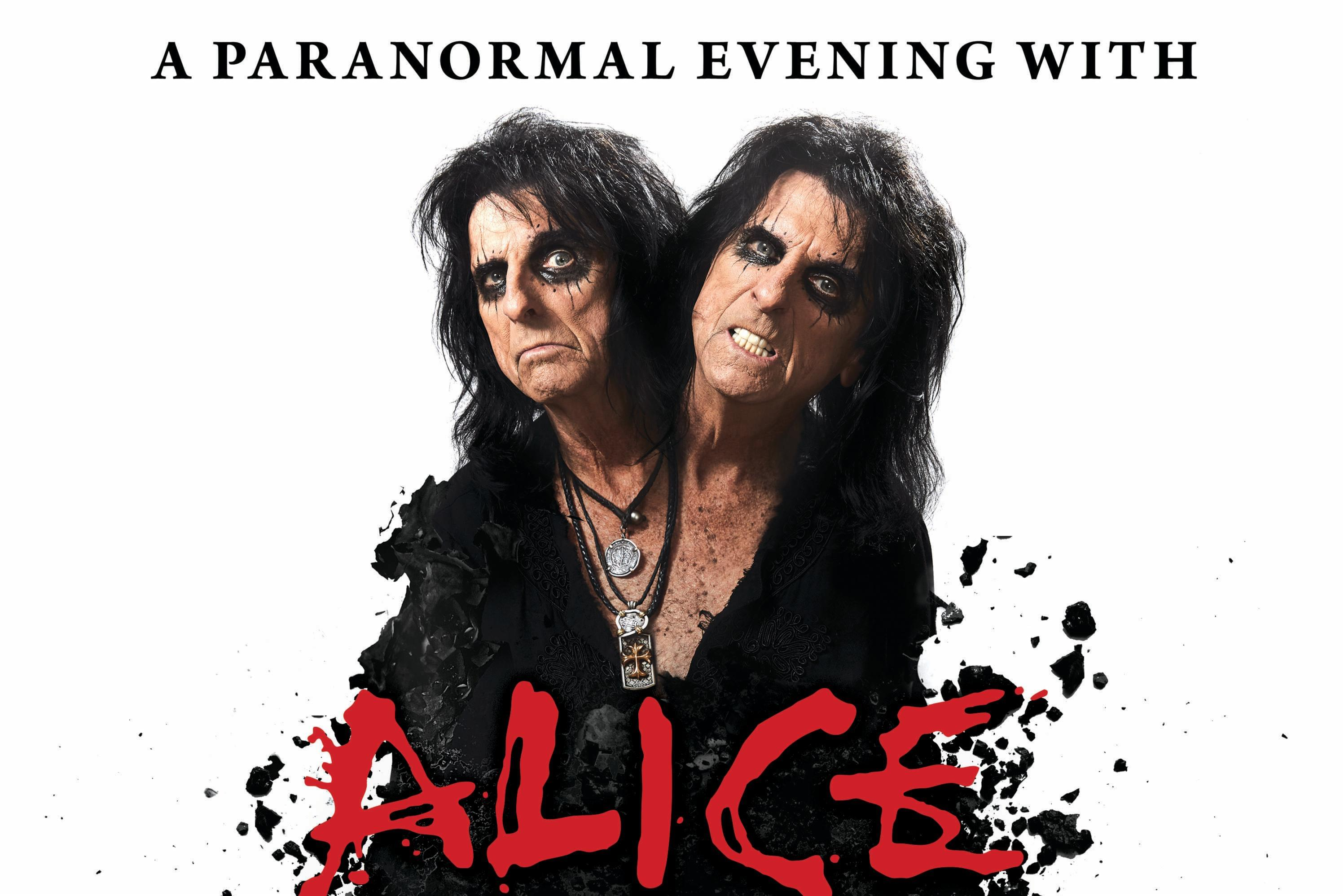 Alice Cooper at the Crouse Hinds Theater