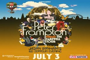 Peter Frampton Tickets – Winners!