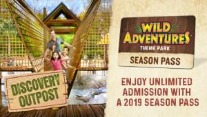 """WIN tickets to the """"Big Top Circus"""" at Wild Adventures!"""
