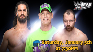 WIN Tickets To See The WWE Live!