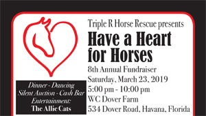 Triple R Horse Rescue Presents: Have a Heart for Horses
