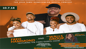 WIN Tickets To The FAMU Homecoming Gospel Concert Feat. Fred Hammond!