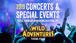 Wild Adventures 2019 Concert & Special Events Lineup Reveal Thursday!