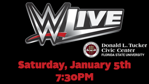 WIN tickets to the WWE LIVE at the Donald L. Tucker Civic Center!