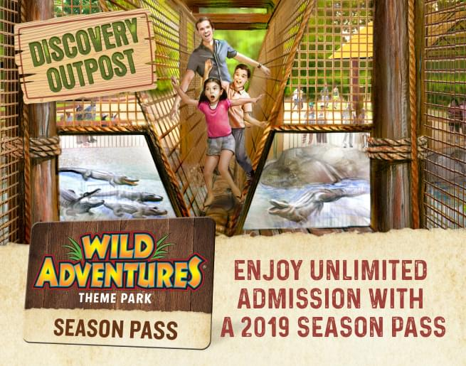 WIN tickets to Wild Adventures! It's your Last Chance to Splash!
