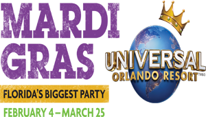 Mardi Gras at Universal Orlando Resort®