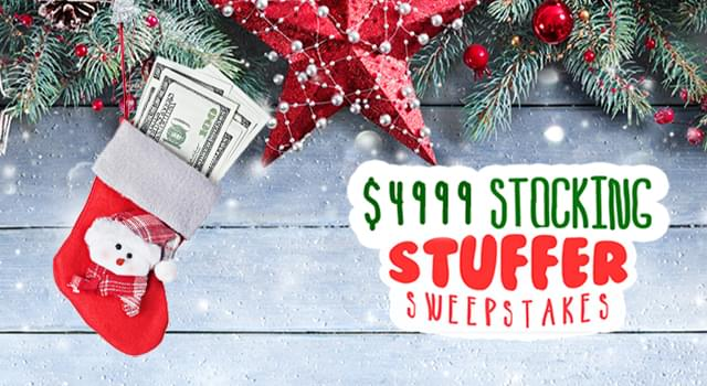 BLAZIN 1023 IS GONNA GIVE YOU A CHANCE TO STUFF YOUR STOCKINGS WITH CASH!!!!!