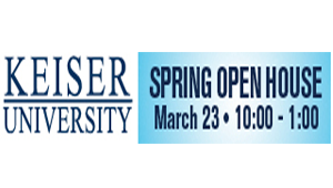 Join DJ E-Zone and the Blazin' 102.3 team at Keiser University March 23rd!