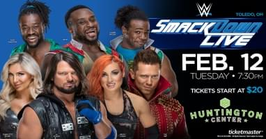 WWE Smackdown Live Returns to Toledo