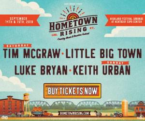 Hometown Rising – Country Music and Bourbon Festival