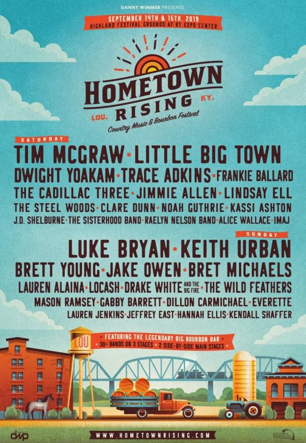 Hometown Rising – Country Music and Bourbon Festival | WKKO-FM