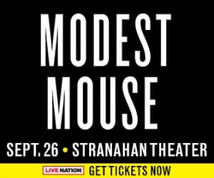 Modest Mouse to Toledo