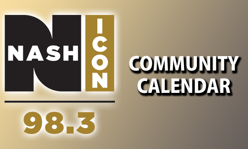 98.3 Nash Icon Community Calendar