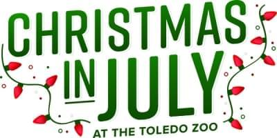 Christmas in July at the Toledo Zoo