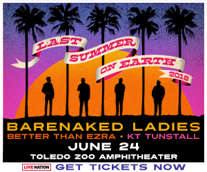 Barenaked Ladies LAST SUMMER ON EARTH 2018 Tour