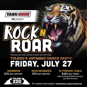 Rock N Roar at The Toledo Zoo