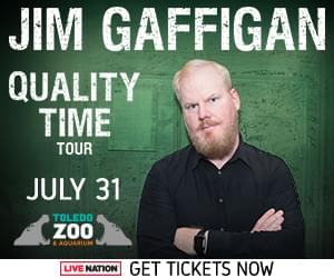 Jim Gaffigan at the Toledo Zoo