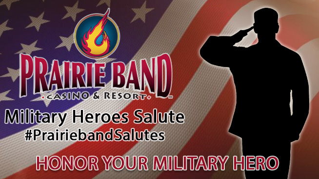 We Salute our December Military Heroes!