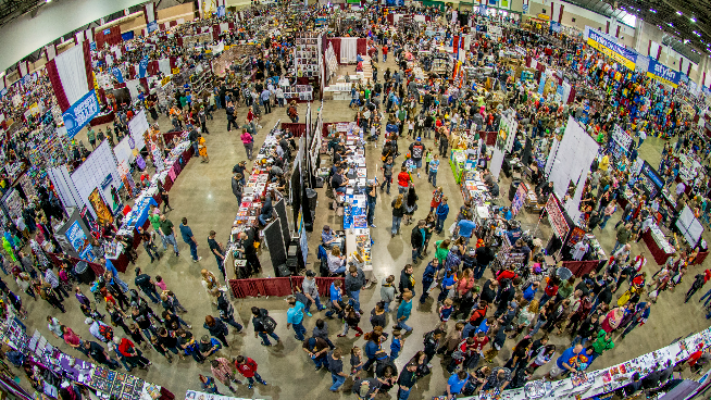 V100's Planet Comicon Top 5 To-Do List
