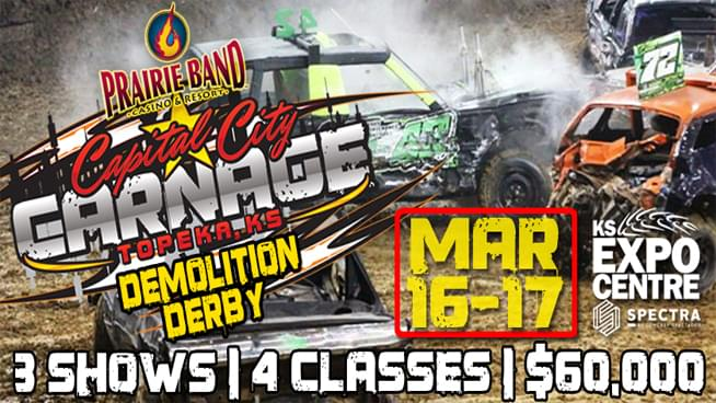 Capital City Carnage is Crashing in to the Expocentre!