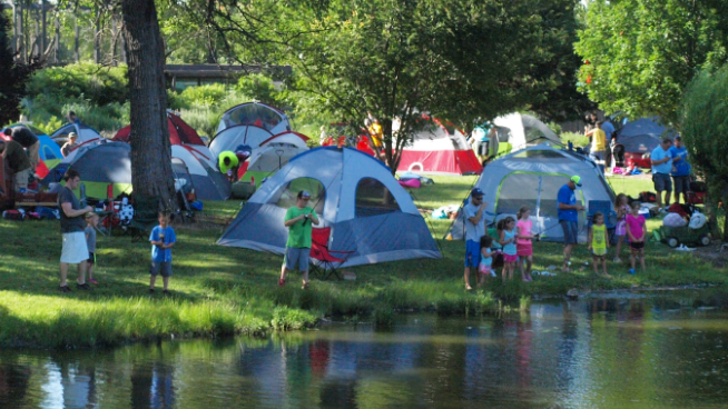 Grab The Tents for The Topeka Zoo's Camp Out With The Kids