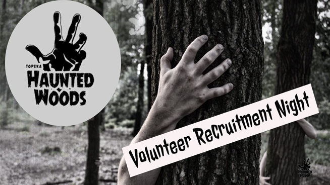 You Can Volunteer at Topeka Haunted Woods