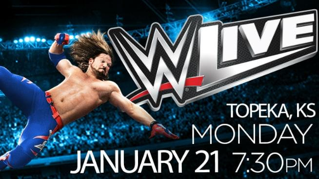 WWE Returns to Topeka – WIN TICKETS