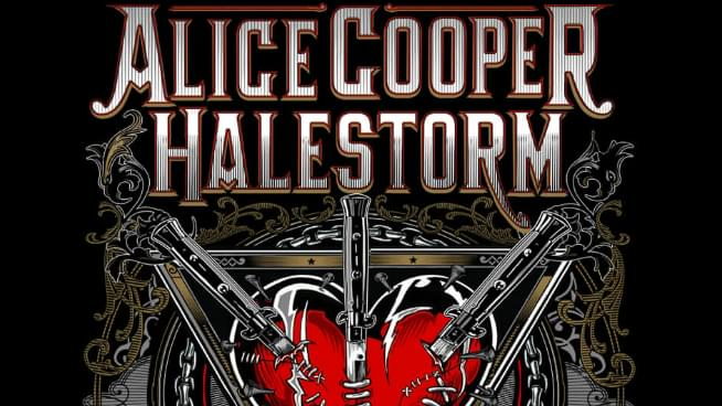 Alice Cooper and Halestorm Haunt KC This Summer
