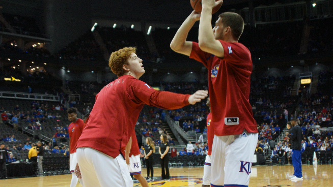 Jayhawks Find Depth, Buckets in Dominating Win Against Omaha.