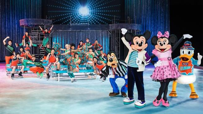 Disney On Ice is Skating in to Intrust Arena!
