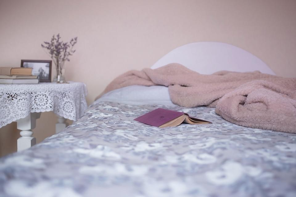 Keep a Heavy Blanket on Your Bed