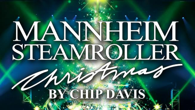 Mannheim Steamroller is coming to Topeka!