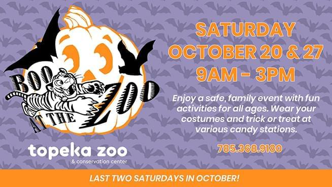 Topeka Zoo Offers An All-Ages Halloween Experience