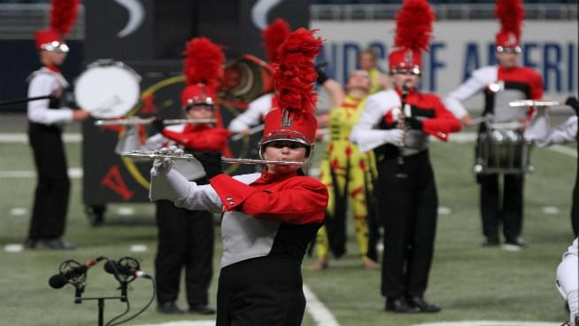 Topeka's Finest Marching Bands Take Center Stage At Washburn University