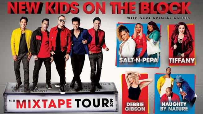 The Mixtape Tour featuring NKOTB in KC!