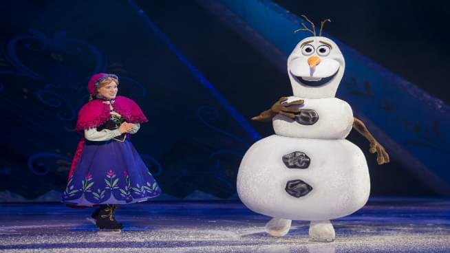 Disney On Ice Presents Frozen Coming To Topeka April 25th-28th
