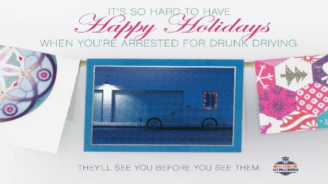 Stay Alive And Don't Drive Drunk This Holiday Season