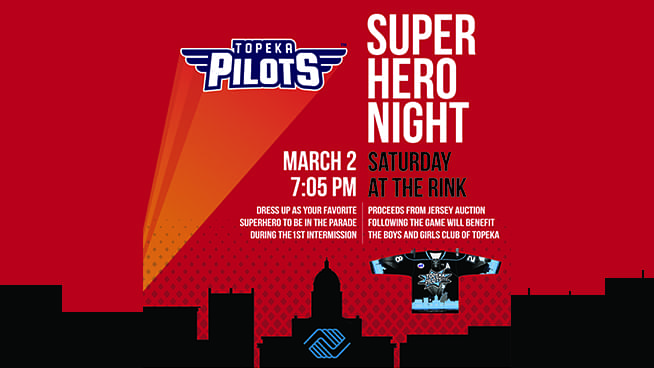 Superhero Night With The Pilots