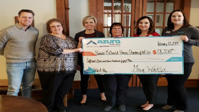 Topeka Charity Receives A Big Gift From A Local Credit Union