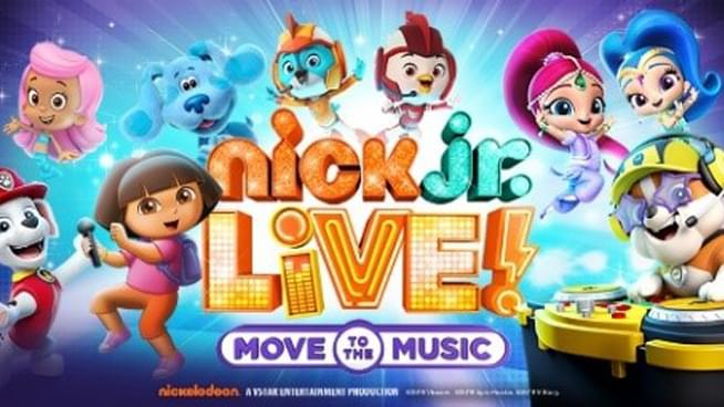 "Nick Jr. Live! ""Move to the Music"" coming to Topeka"