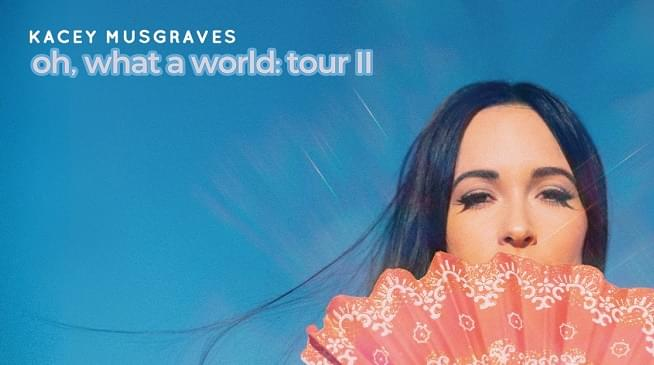 Kacey Musgraves Is Bringing Her Oh, What A World Tour To Kansas City