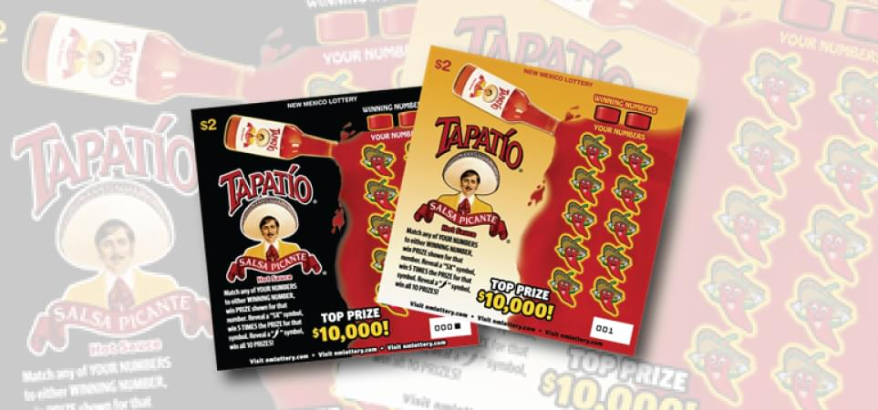 New Mexico Lottery Tapatío® Salsa Picante Scratchers