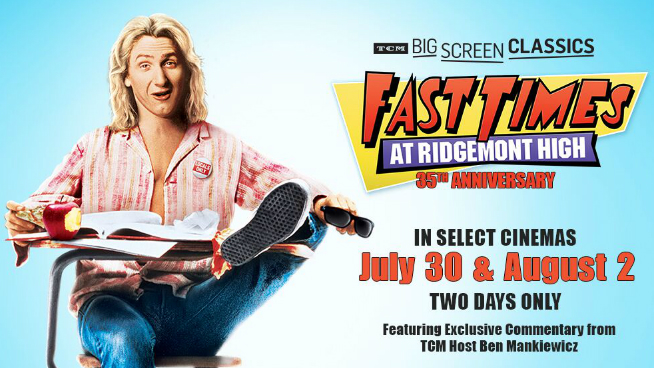 Fast Times at Ridgemont High at the Hollywood 14