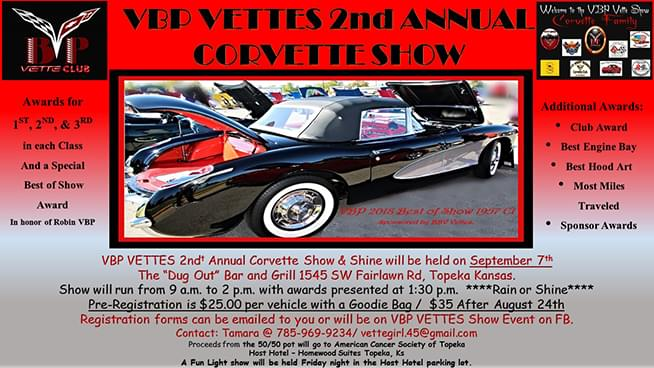 VBP Vettes 2nd Annual Corvette Show