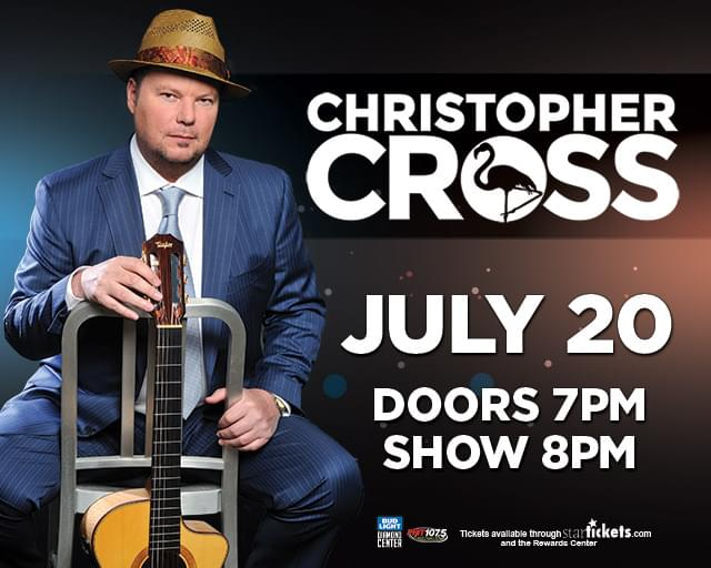 7/20: Christopher Cross at The Diamond Center