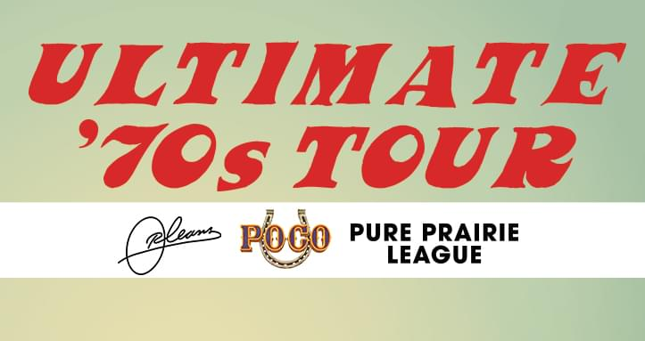 8/18: The Ultimate 70's Tour at The Diamond Center