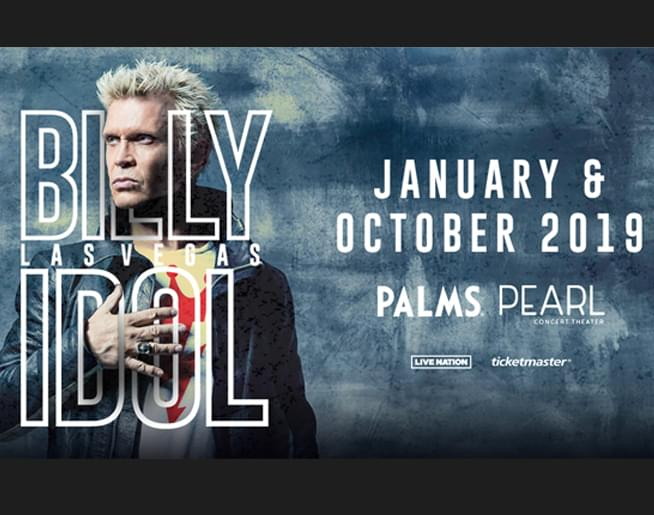 Billy Idol: Las Vegas!